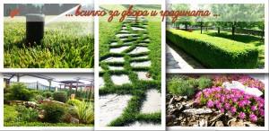 поливни системи и озеленяване